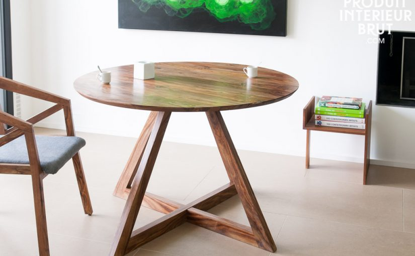 Un must discret du design : la table scandinave