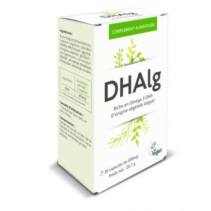 DHAlg : apport en oméga 3 certifié vegan