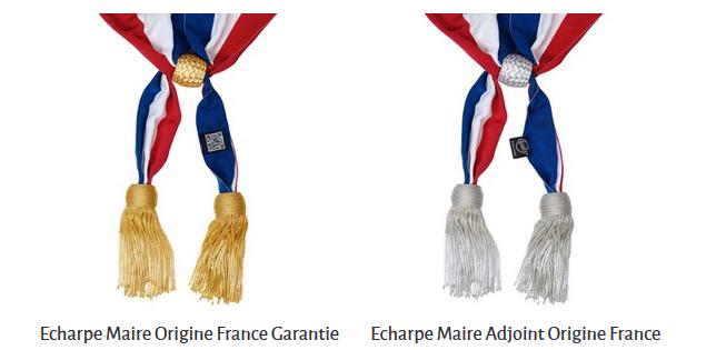 Écharpe de maire – DRAGO PARIS